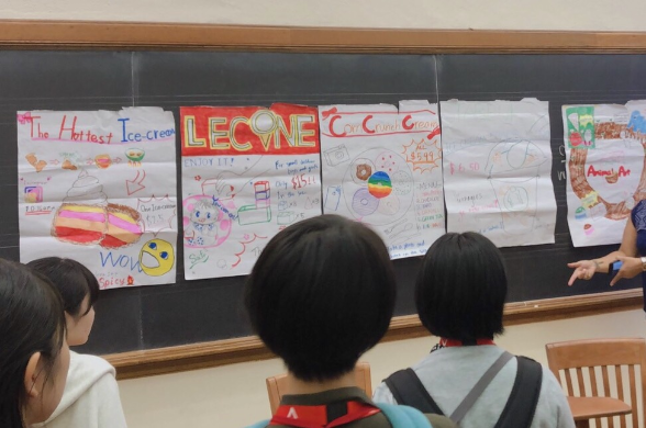 プレゼンでは各グループ様々なアイデアが出て盛り上がりました!