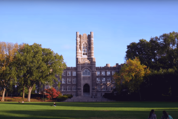 ニューヨークにあるフォーダム大学(ウエブサイトhttps://www.fordham.edu/より